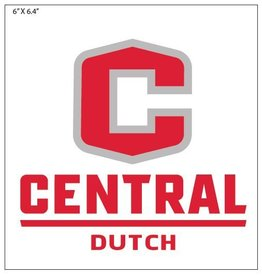"""POTTR Potter Decal 6"""" C Logo"""