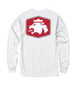MVSPT MV Sport Lion Flock LS Tee White