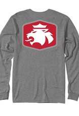MVSPT MV Sport Lion Flock LS Tee Gray