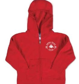 COLLKIDS College Kids full-zip red