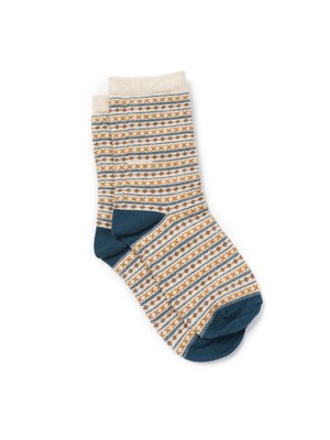 Bonton Bonton Jacquard Socks