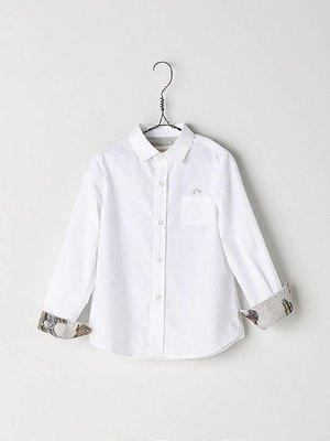 Nanos Nanos Boys White Shirt
