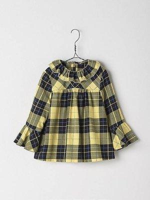 Nanos Nanos Girls Checked Blouse