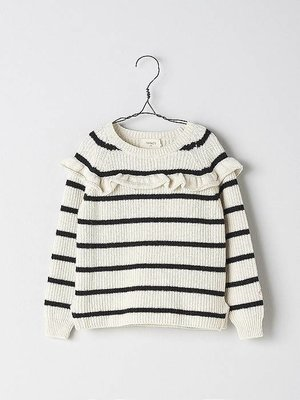 Nanos Nanos Girls Stripes Sweater