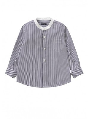 Il Gufo ilGufo Boy stripes shirt