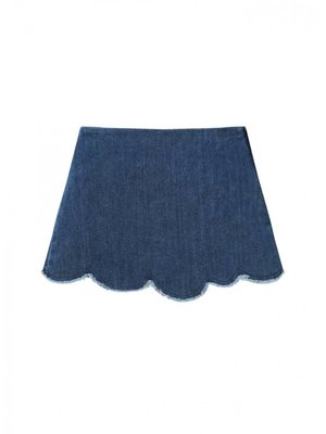 Il Gufo ilGufo Girl denim skirt