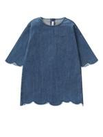 Il Gufo Ilgufo Girl Denim Dress