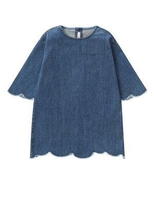 Il Gufo Ilgufo Girl Denim Dress