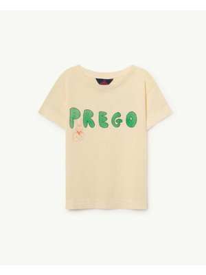 The Animals Observatory TAO Rooster Yello Prego T-Shirt