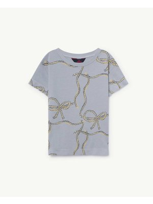 The Animals Observatory TAO Rooster Blue Ropes T-Shirt