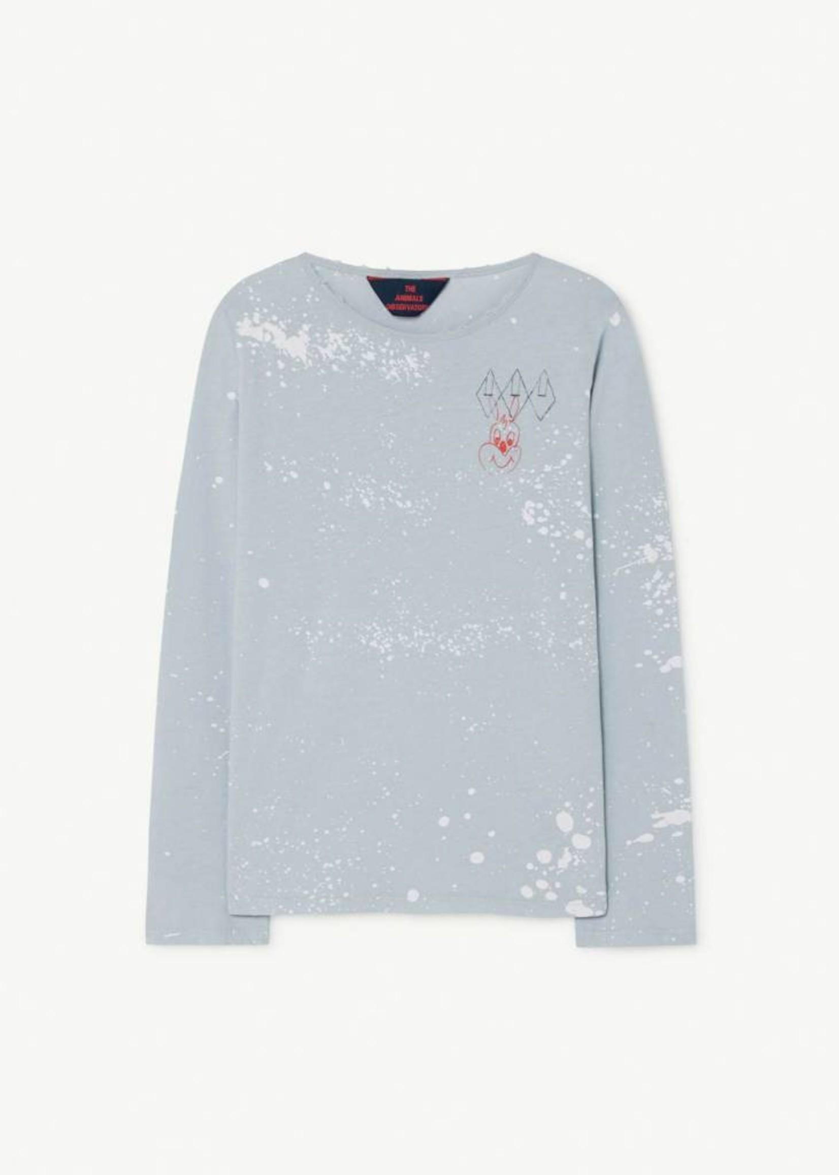 The Animals Observatory TAO Deer Blue Splashes T-Shirt