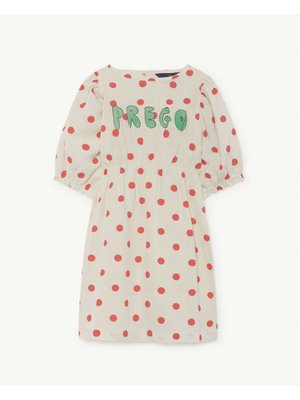 The Animals Observatory TAO Swallow White dots Dress