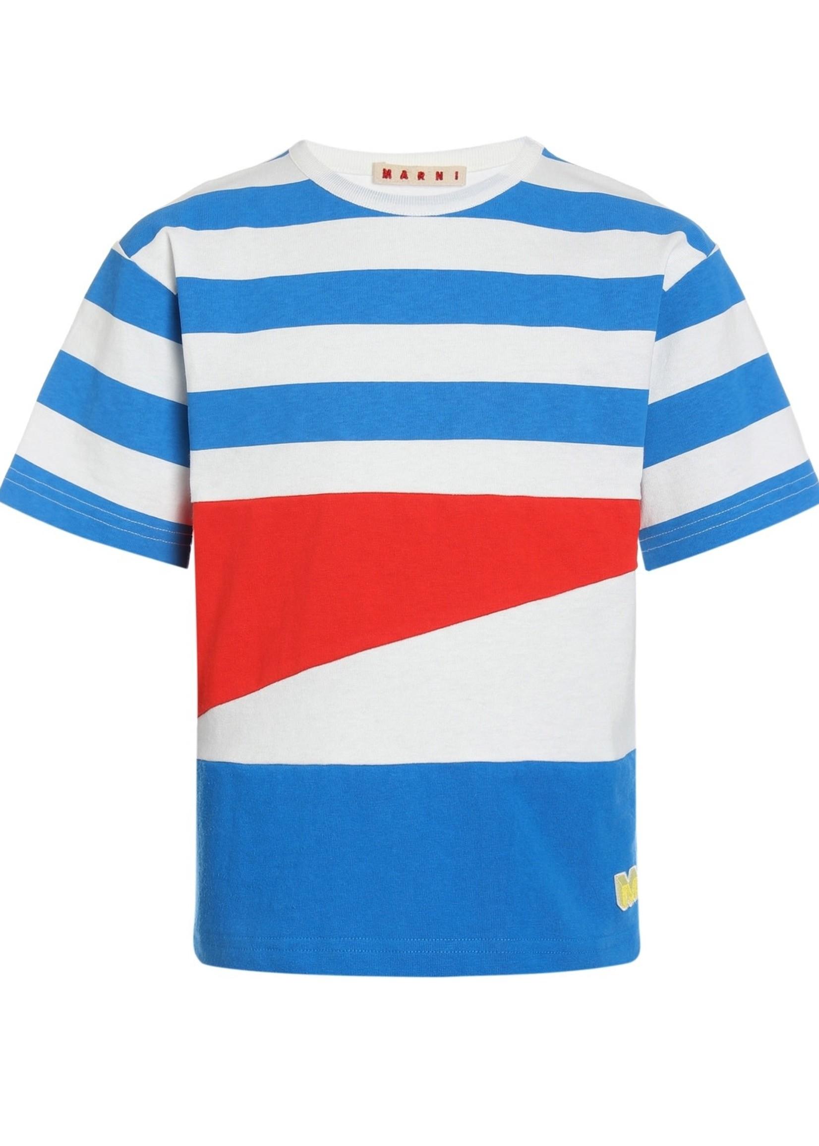 Marni Marni Stipes T-Shirt