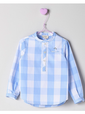 Nanos Nanos Boys Checked Shirt