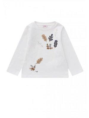 Il Gufo ilGufo Girl Leaves T-Shirt