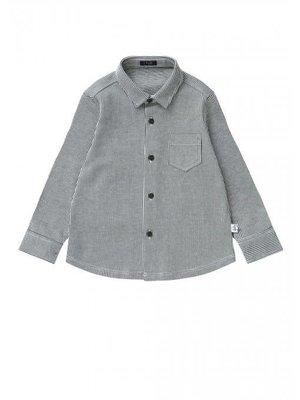 Il Gufo ilGufo Boys Pinstripes Shirt