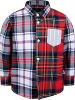 Il Gufo ilGufo Boy Checked Shirt