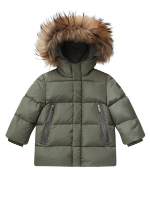 Il Gufo ilgufo boy Short down jacket