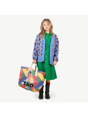 The Animals Observatory TAO Racoon kids cardigan