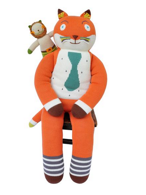 Blabla blabla knit dolls Giant AS-Giant Socks the Fox