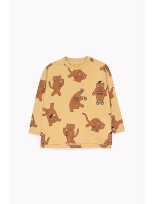 Tiny cottons Tiny Cottons Cats Long Sleevess Tee