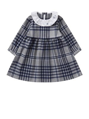 Il Gufo ilGufo baby Flannel Dress