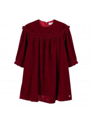 Tartine et Chocolat Tartine Gril Velvet Dress
