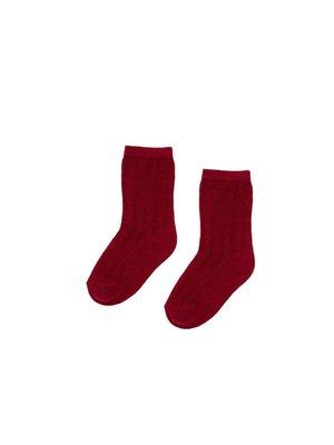 caramel Caramel Pointelle Socks