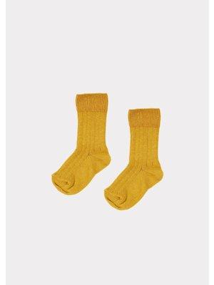 caramel Caramel Rib Ankle Socks