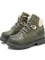 Il Gufo ilGufo Green Leather Boots