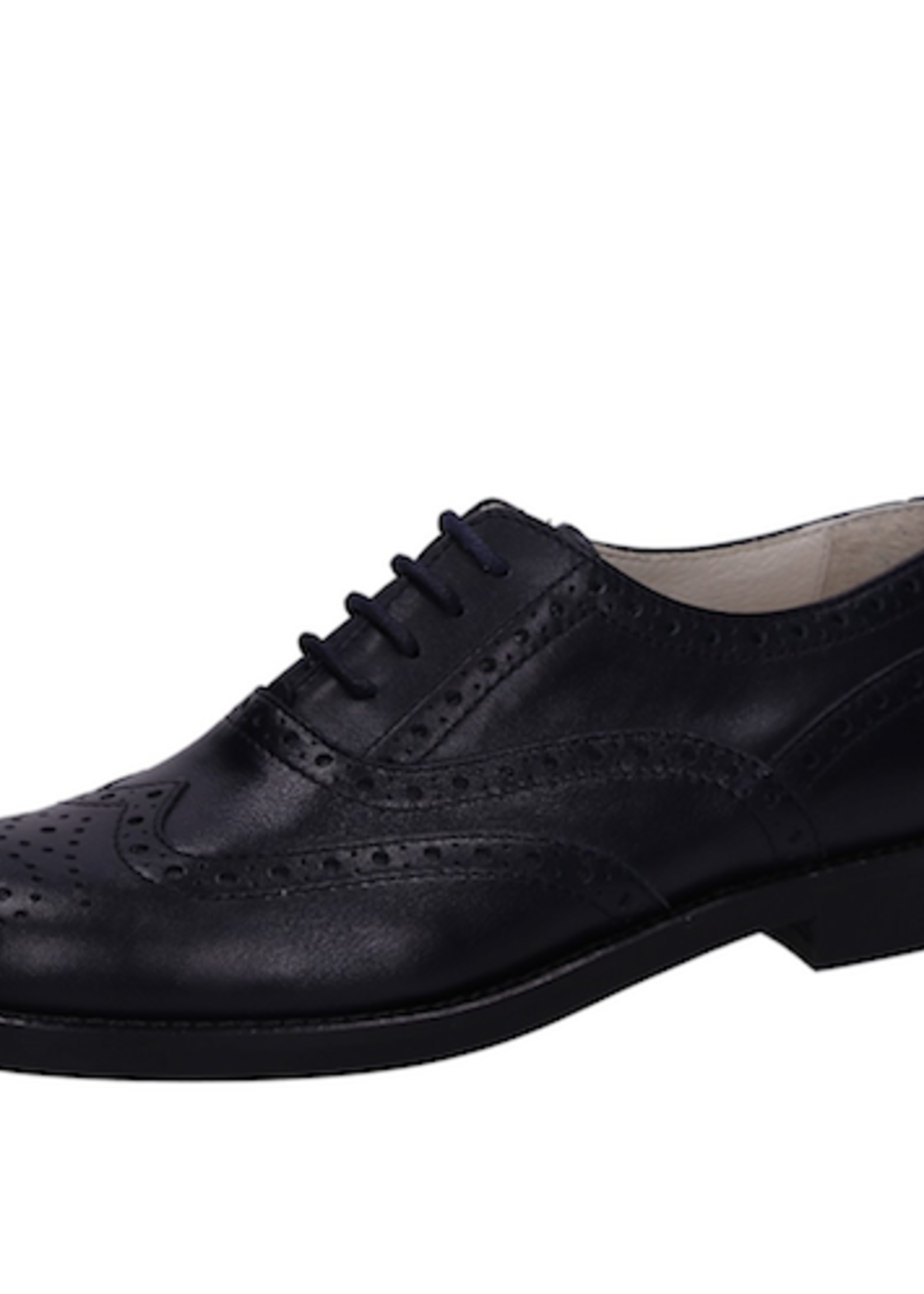 Il Gufo ilGufo Black Leather Shoes
