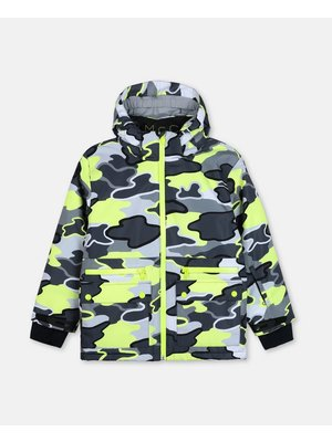 stella Mccartney Stella Mccartney Boy Camo Ski Jacket
