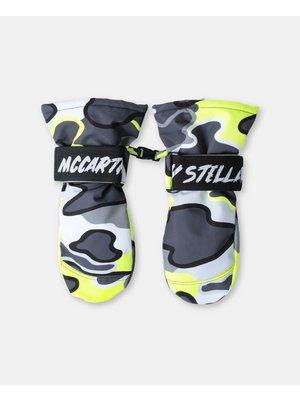 stella Mccartney Stella Mccartney Boy Camo Ski Gloves