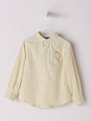 Nanos Nanos Boy Checked Shirt