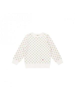 Bonton Bonton Hearts Sweater
