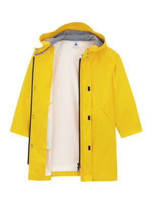 Petit Bateau Unisex Children's Waxed Raincoat