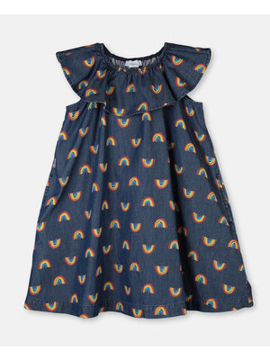 stella Mccartney RAINBOW  CHAMBRAY DRESS