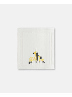stella Mccartney Giraffe Cotton-Wool Blanket