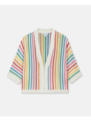 stella Mccartney Rainbow Stripes Cardigan