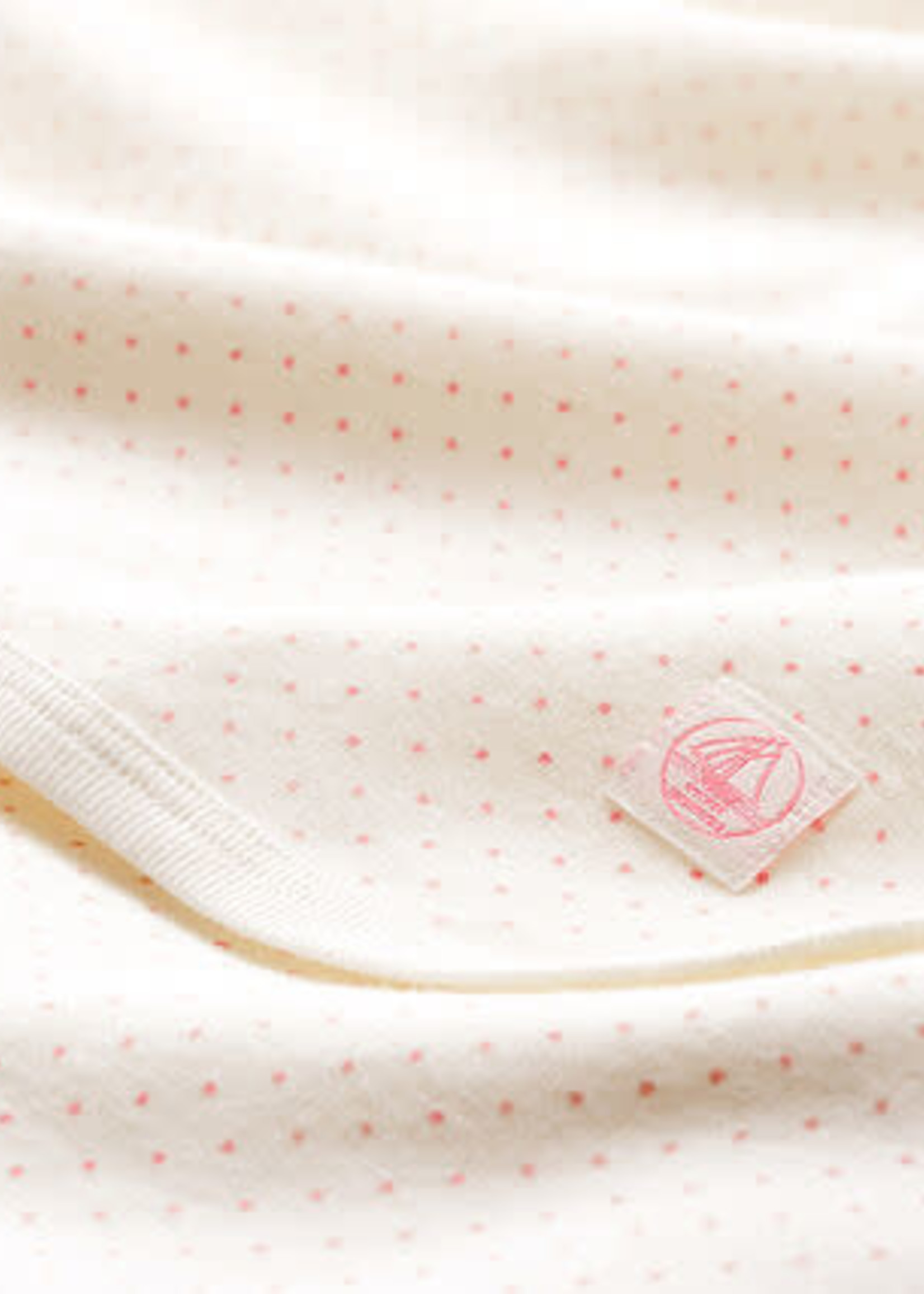 Petit Bateau Babies' Ribbed Maternity Blanket