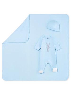Petit Bateau Newborn Rib Knit Gift Set