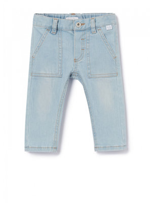 Il Gufo DENIM JEANS - LIGHT BLUE