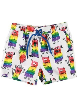 stella Mccartney RAINBOW MONSTER SWIMSHORTS