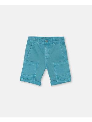 stella Mccartney Blue Washed Denim Shorts