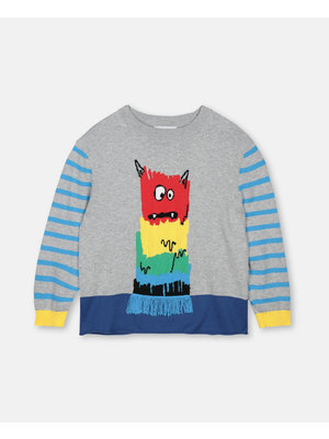stella Mccartney Rainbow Monster Sweater