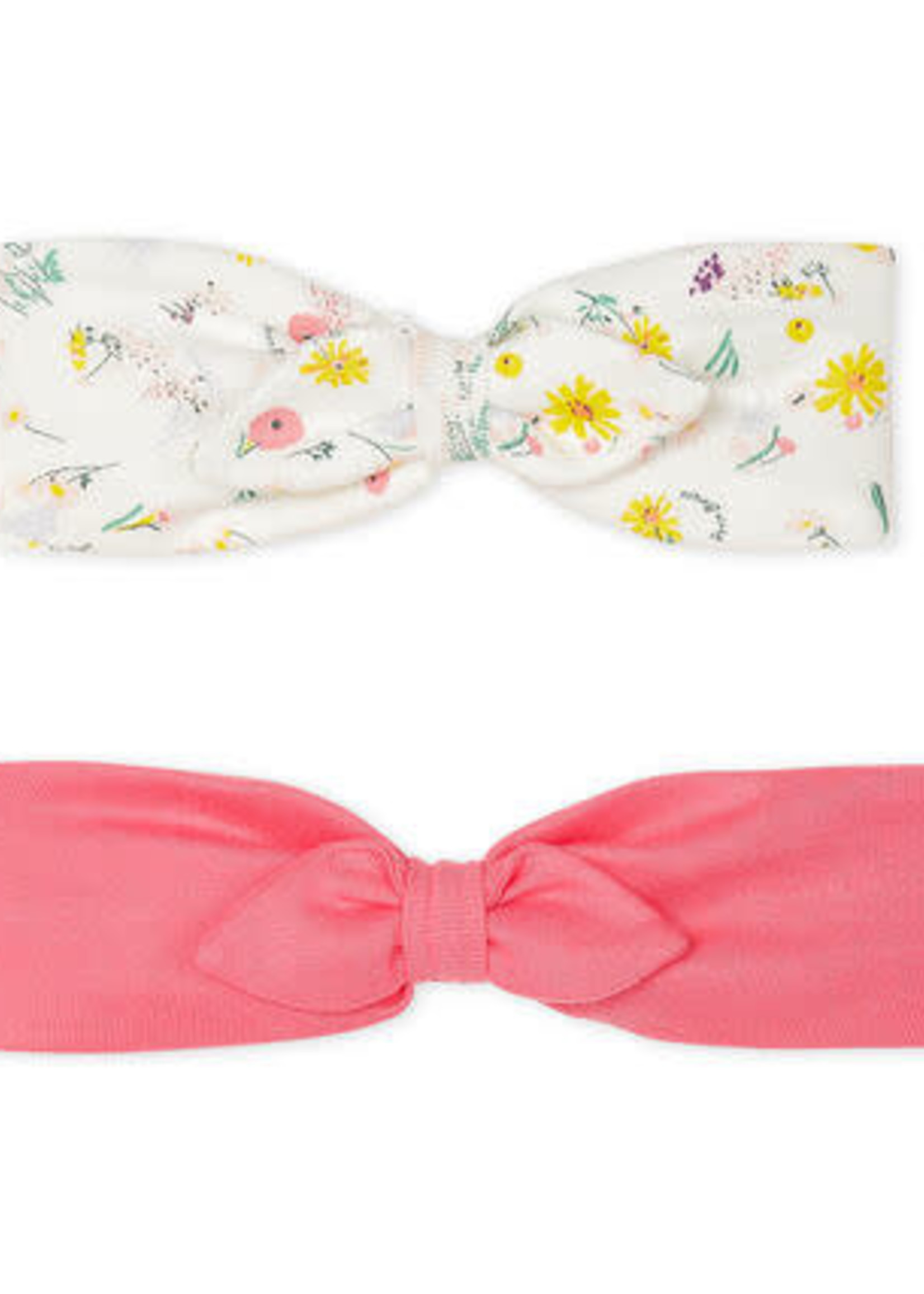Petit Bateau Set of 2 hair bands for baby girls