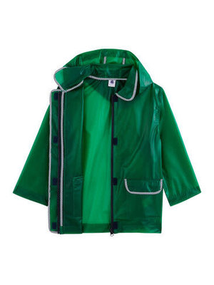 Petit Bateau Unisex Children's Waxed Coat