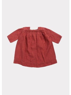 caramel WIMBLEDON BABY DRESS
