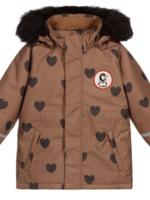 Mini Rodini Mnini Rodini-AW20 K2 hearts parka2071012216