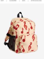 Mini Rodini Mini Rodini-AW20 Notes school bag